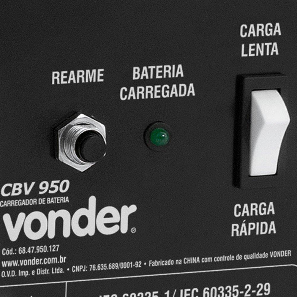 Carregador de Bateria 12V  CBV 950 - Imagem zoom