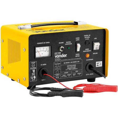 carregador de bateria 12v cbv 950 220v