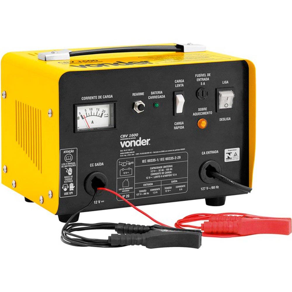 Carregador de Bateria 12V CBV 1600  - Imagem zoom