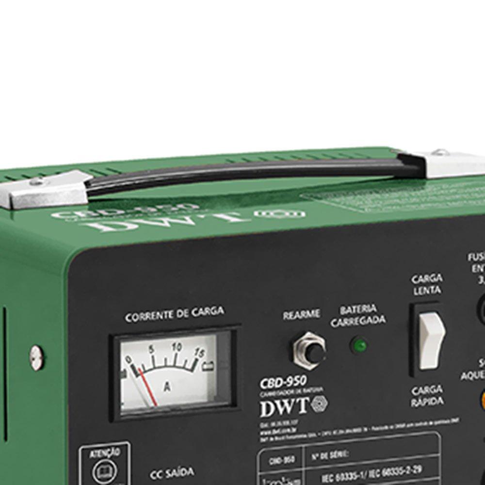 Carregador de Bateria Portátil CBD-950  12V - Imagem zoom