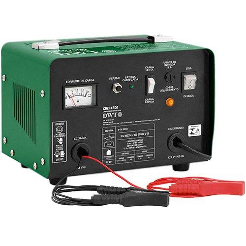 carregador de bateria portátil cbd-1600 220v 12v