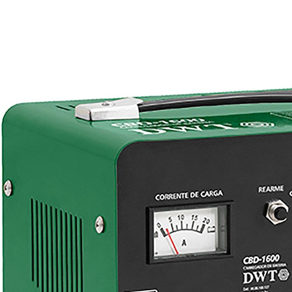 Carregador de Bateria Portátil CBD-1600  12V - Imagem zoom