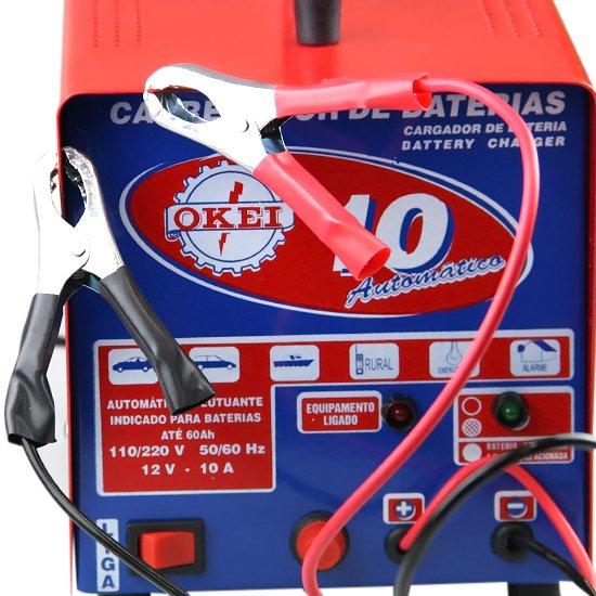 Carregador de Bateria Automático 10A - Imagem zoom