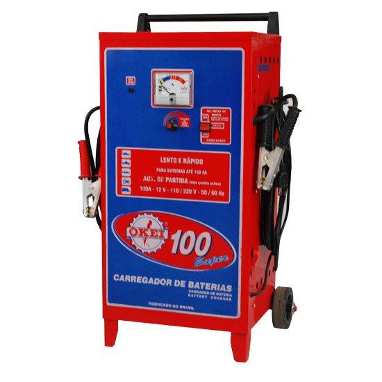Carregador de Bateria 100A - 12V CB100 - Imagem zoom