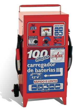 Carregador de bateria 100T-12V com teste - Imagem zoom