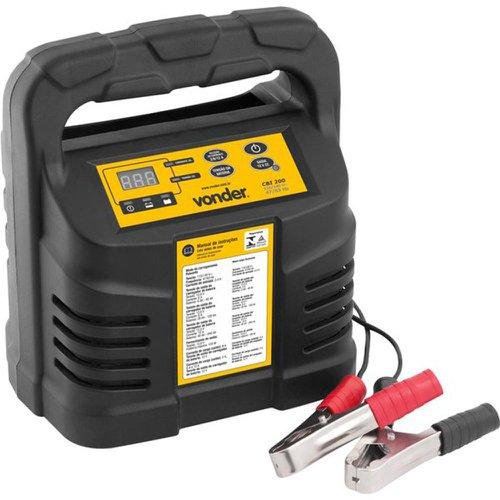 carregador inteligente de bateria 12v 110v - cib 200