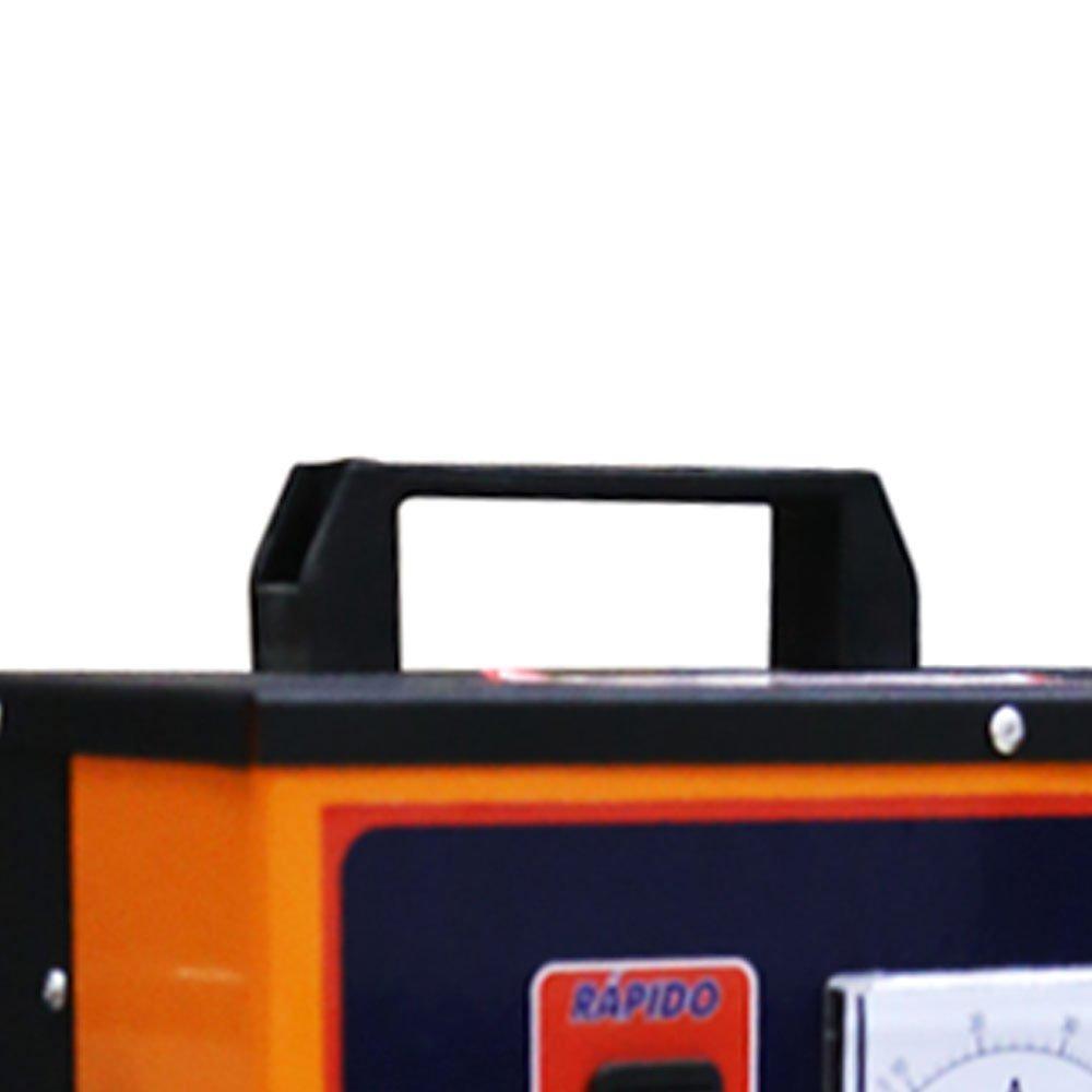 Carregador de Baterias Rápido e Lento 14V 50A com Auxilar de Partida MTL - Imagem zoom