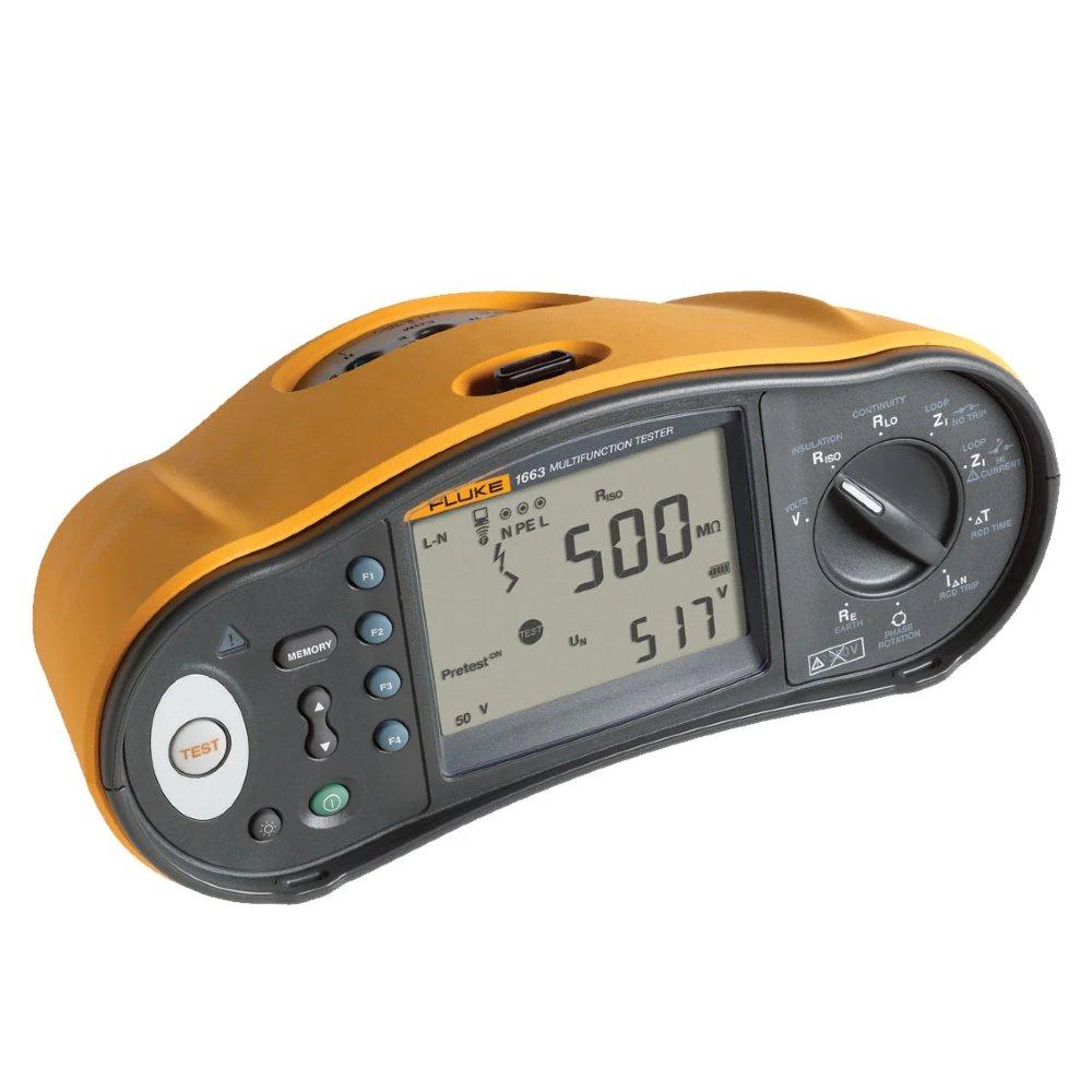 Testador de Instalação Elétrica 50V a 1000V - Imagem zoom