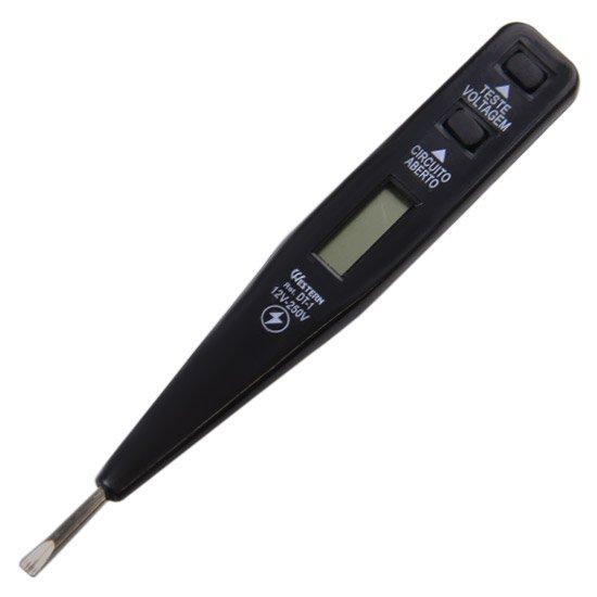 Teste de Voltagem e Corrente Elétrica Digital 12 V a 250 V - Imagem zoom