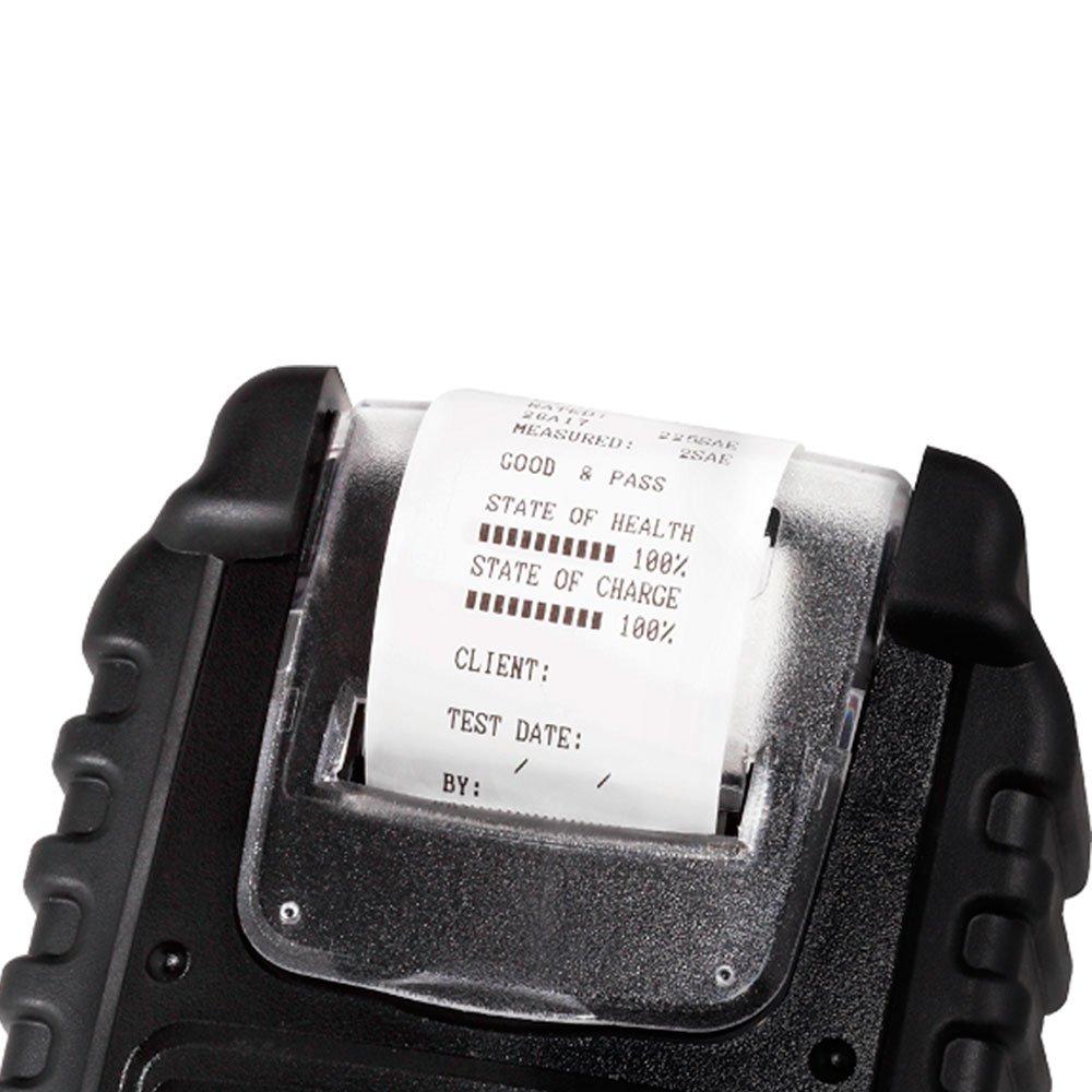 Testador Digital de Bateria Automotivo 6-12V com Impressora Integrada - BT521 - Imagem zoom