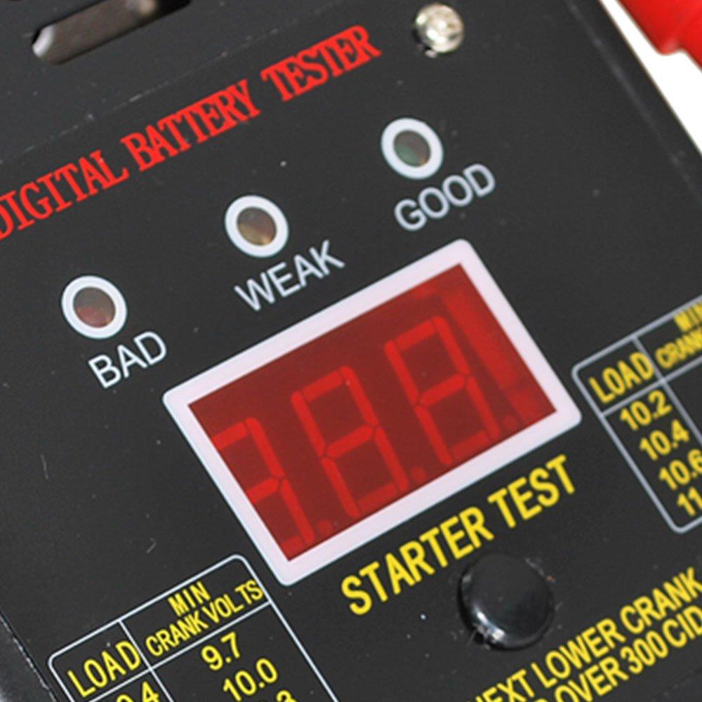 Teste de Bateria Digital 125A 12V - Imagem zoom