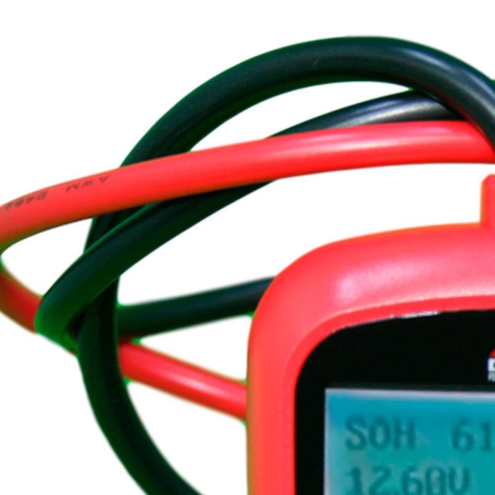 Teste de Bateria Digital - Imagem zoom