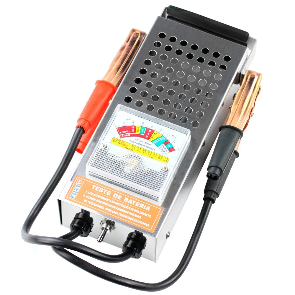 Teste de Bateria 6V a 12V e Funcionamento do Alternador 500A - Imagem zoom