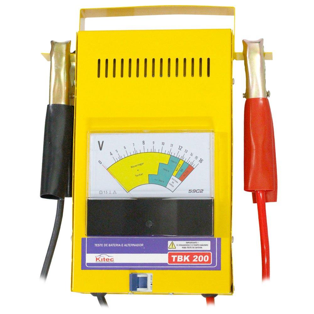 Teste de Bateria e Sistema de Carga 16V  150A/h - Imagem zoom