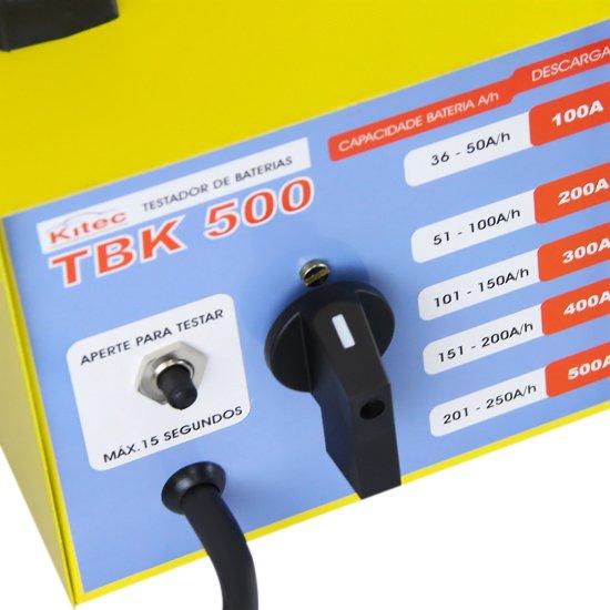 Teste de Bateria e Sistema de Carga Profissional de 36 à 250Ah - Imagem zoom