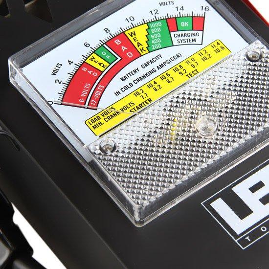 Teste de Bateria e Alternador Automotivo de 6 V - 12 V - Imagem zoom