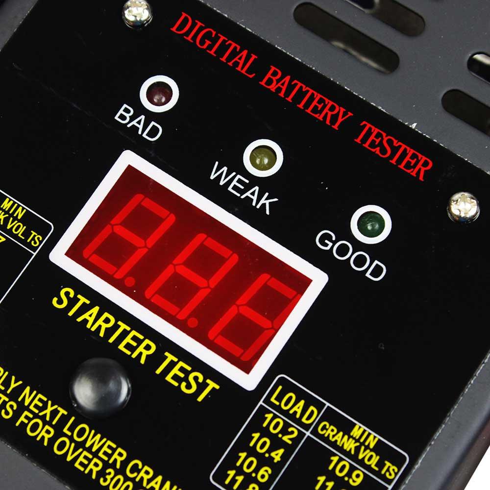 Teste de Bateria Digital 12V 125A - Imagem zoom