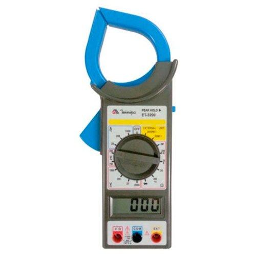 alicate amperímetro digital 50mm