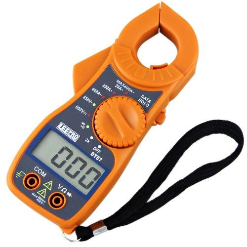 alicate amperimetro digital mt87