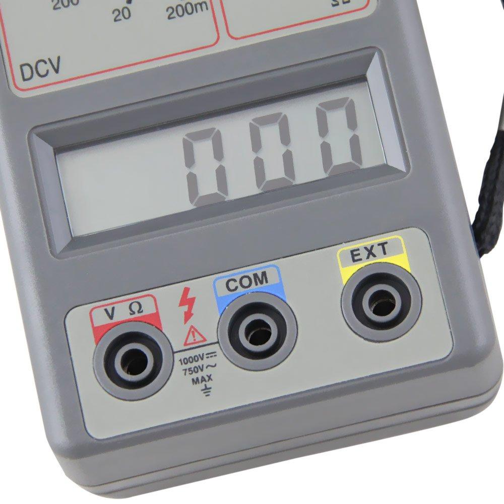 Alicate Amperímetro Digital - Imagem zoom