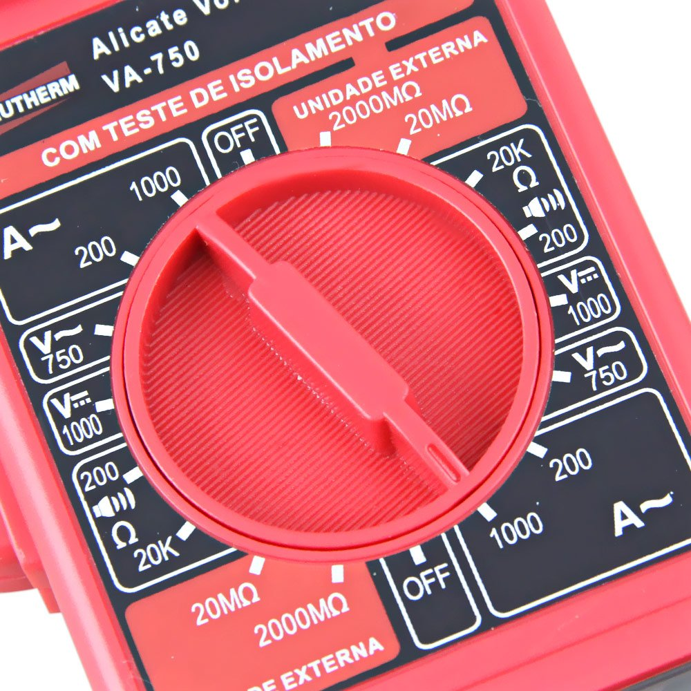 Volt - Amperímetro Alicate Digital  - Imagem zoom