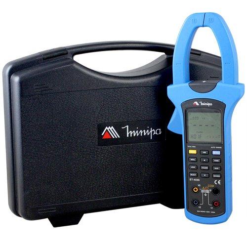 alicate wattímetro para testes de potência e energia