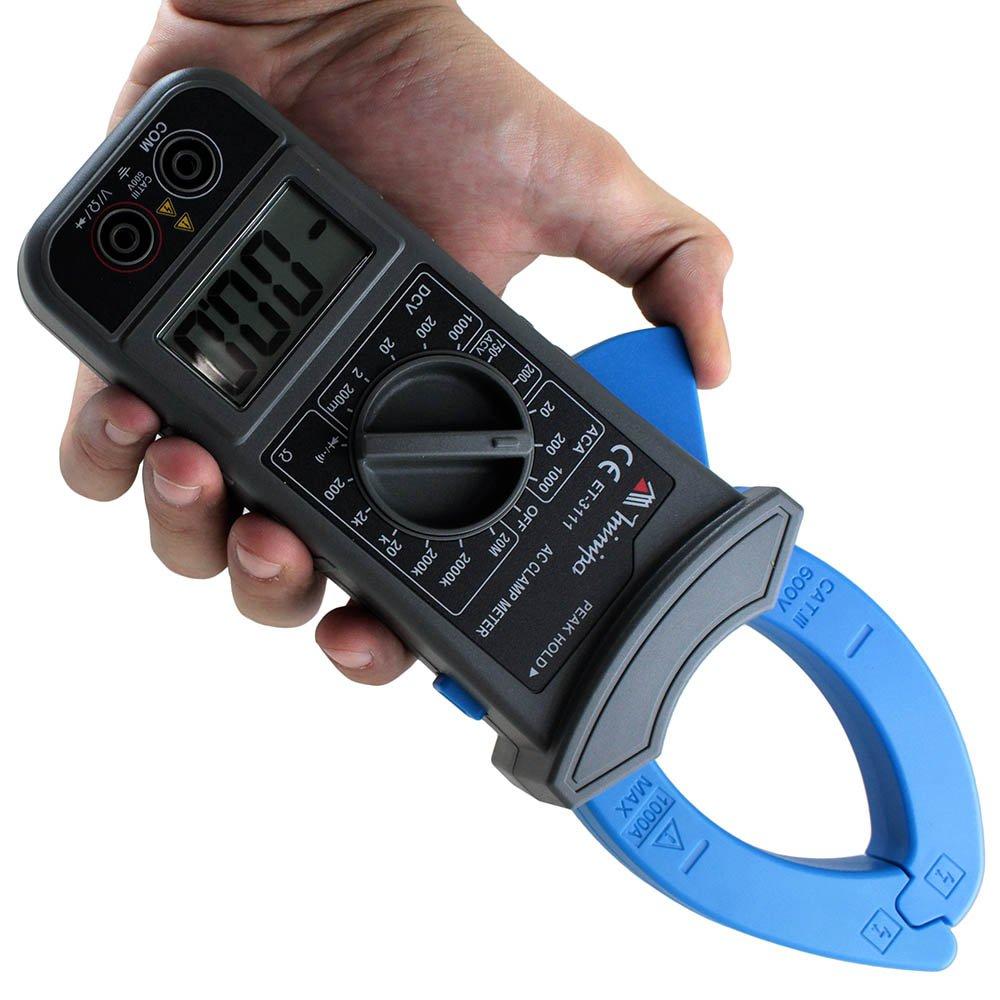 Alicate Amperímetro Digital com Abertura da Garra de 40mm - Imagem zoom