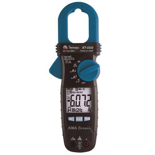 alicate amperímetro digital 30mm com tecnologia amptip