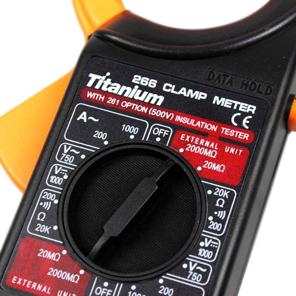 Alicate Amperímetro com Multímetro - Imagem zoom