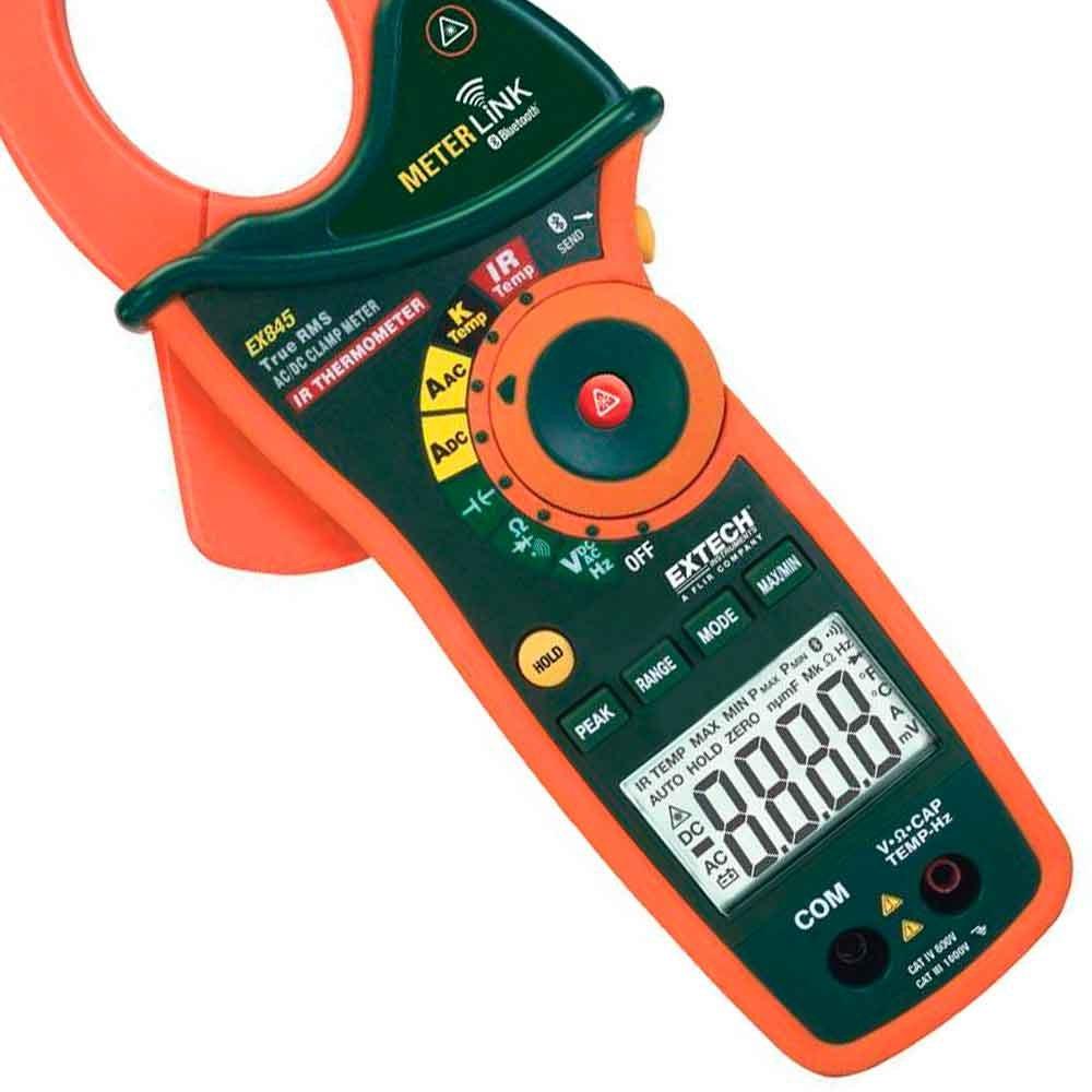 Alicate Amperímetro com Bluetooth True RMS 1000 A - Imagem zoom