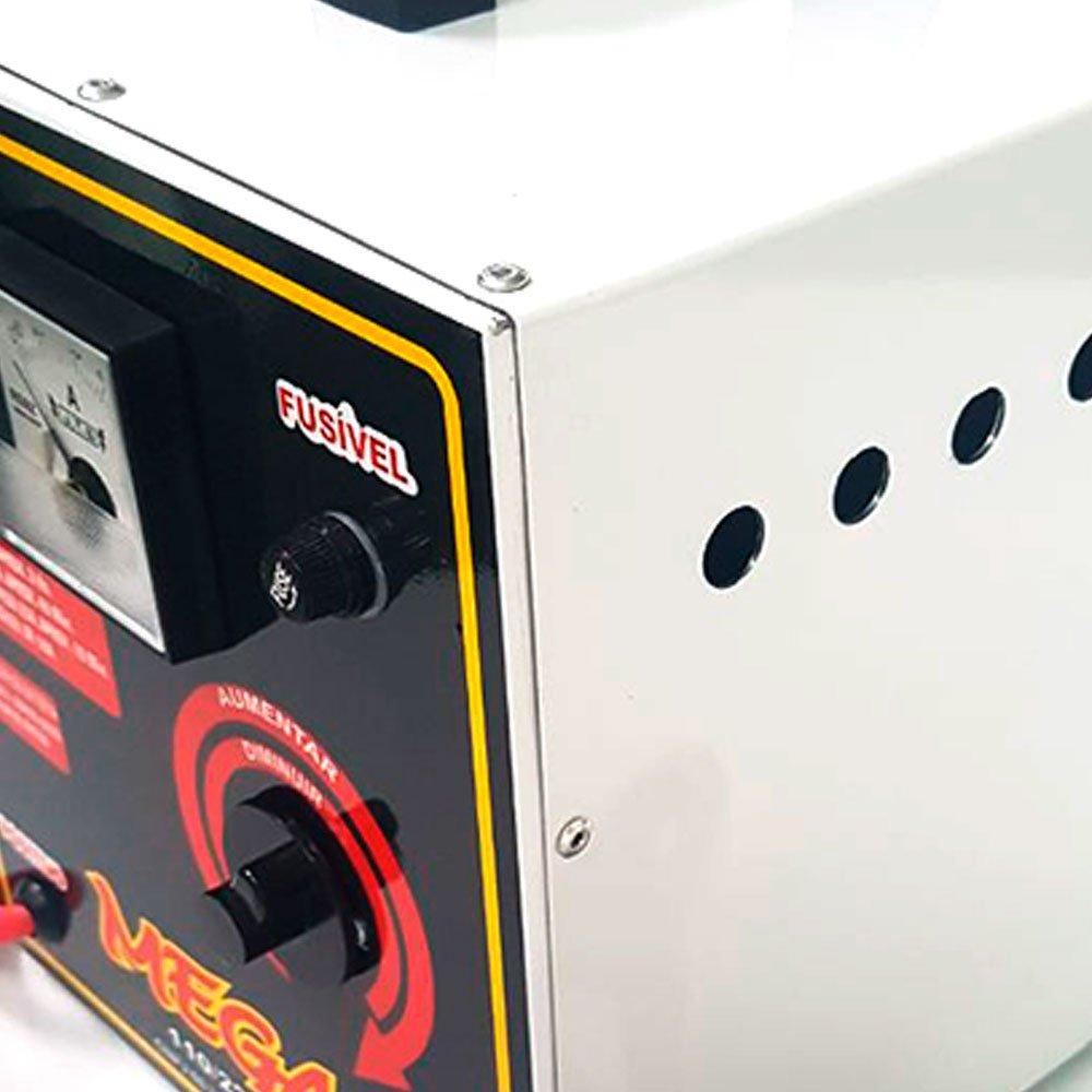 Carregador de Bateria Portátil 50A 12/24V 110/220V - Imagem zoom