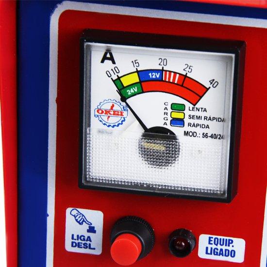 Carregador de Bateria 40A 12/24V Compact - Imagem zoom