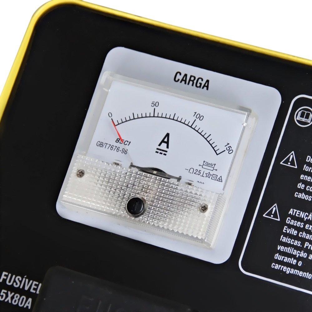 Carregador de Bateria com Auxiliar de Partida 12 / 24V CBV 5200 Bivolt - Imagem zoom