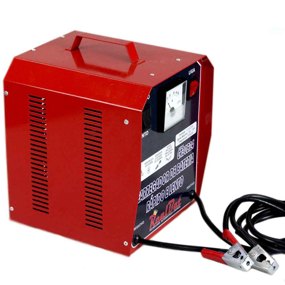 Carregador de Baterias 24V  Rápido e Lento  - Imagem zoom
