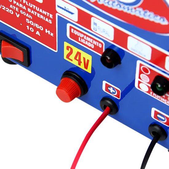 Carregador de Bateria 10 A - 24 V - Imagem zoom