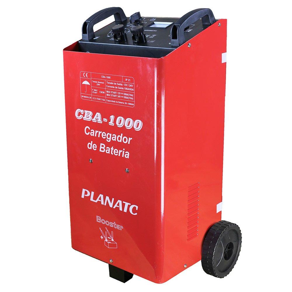 Carregador de Bateria 12/24V  com Auxiliar de Partida 500A - Imagem zoom
