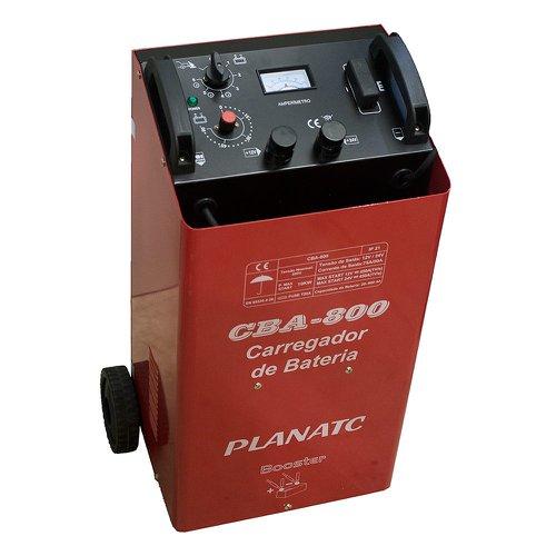 carregador de bateria 12/24v com auxiliar de partida 450a 220v