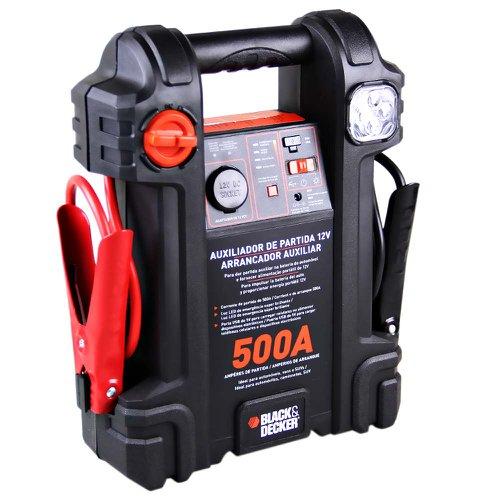 auxiliar de partida 500a 12v com luz de emergência