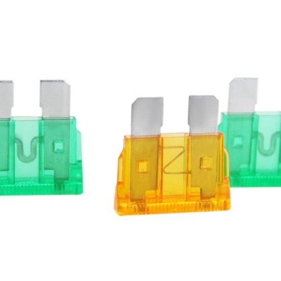 Kit com 15 Fusíveis para Carro - Imagem zoom