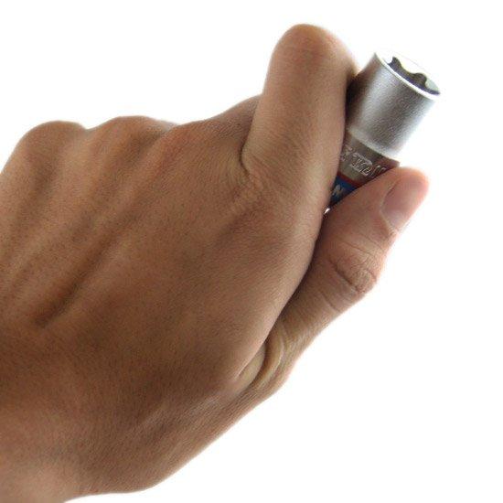 Jogo de Soquete tipo Tork com 6 Peças - 1/2 Pol - Imagem zoom