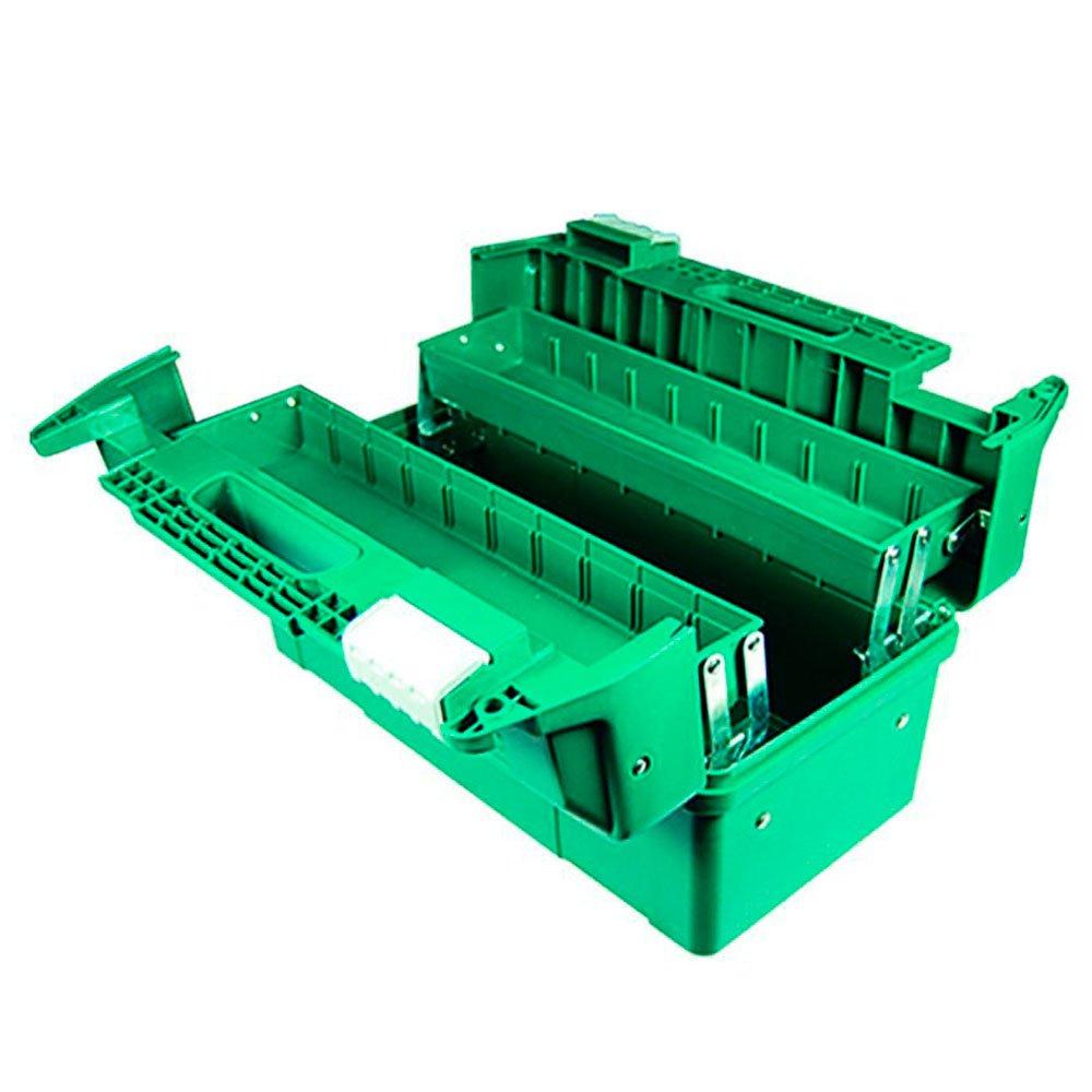 Caixa Plástica Sanfonada 17 Pol. para Ferramentas 440 x 230 x 250mm - Imagem zoom