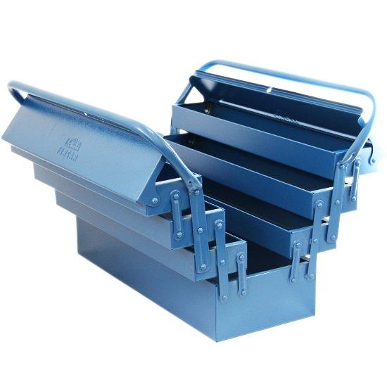Caixa de Ferramentas Sanfonada com 7 Gavetas Azul - Imagem zoom