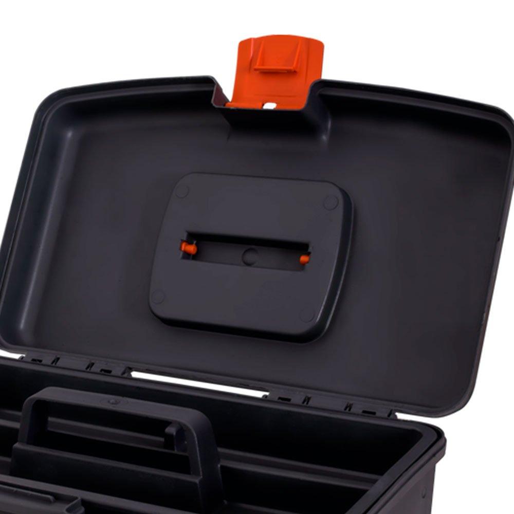 Caixa Plástica para Ferramentas 360 x 210 mm com Bandeja  - Imagem zoom