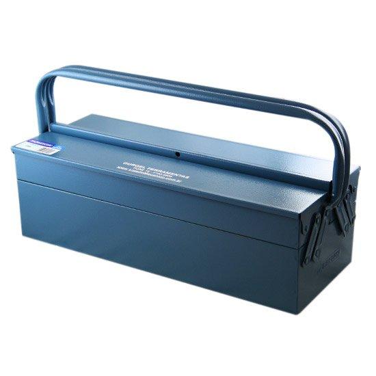 Caixa de Ferramentas com 3 gavetas Azul - Imagem zoom