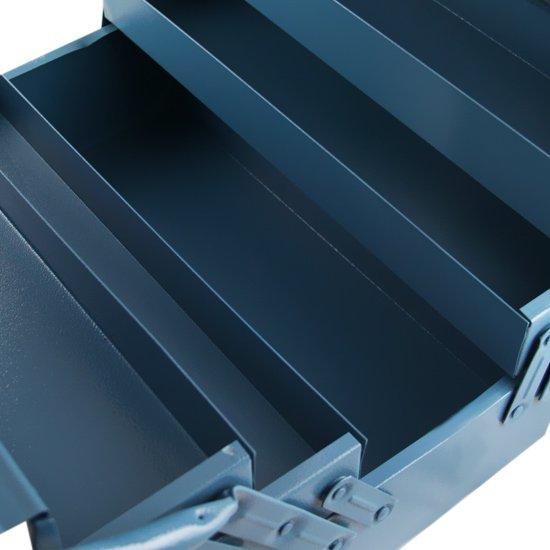 Caixa de ferramentas com 5 Gavetas Azul - Imagem zoom