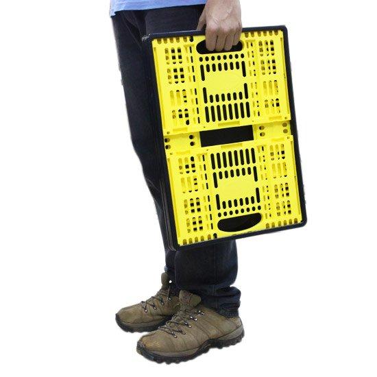 Caixa Plástica Desmontável Multiuso - Imagem zoom