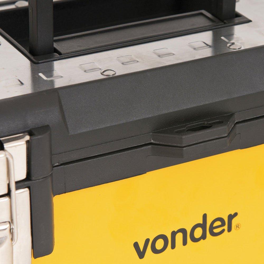 Caixa Metálica para Ferramentas CMV 0380 380 x 160 x 180 mm - Imagem zoom
