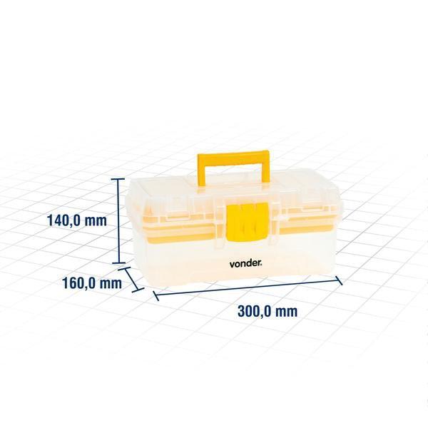 Caixa Plástica Cpv 0300  - Imagem zoom