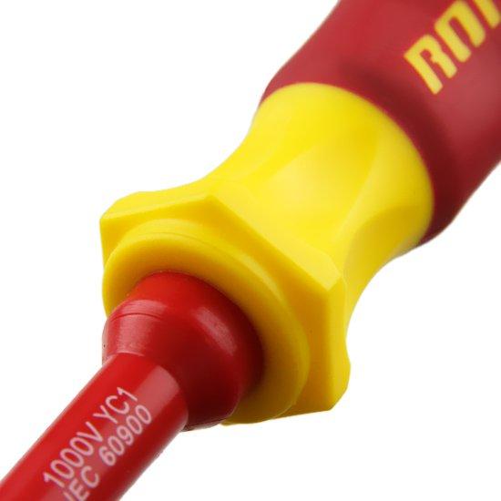 Chave de Fenda Simples Isolada 1/ 4 x 6 Pol.  - Imagem zoom