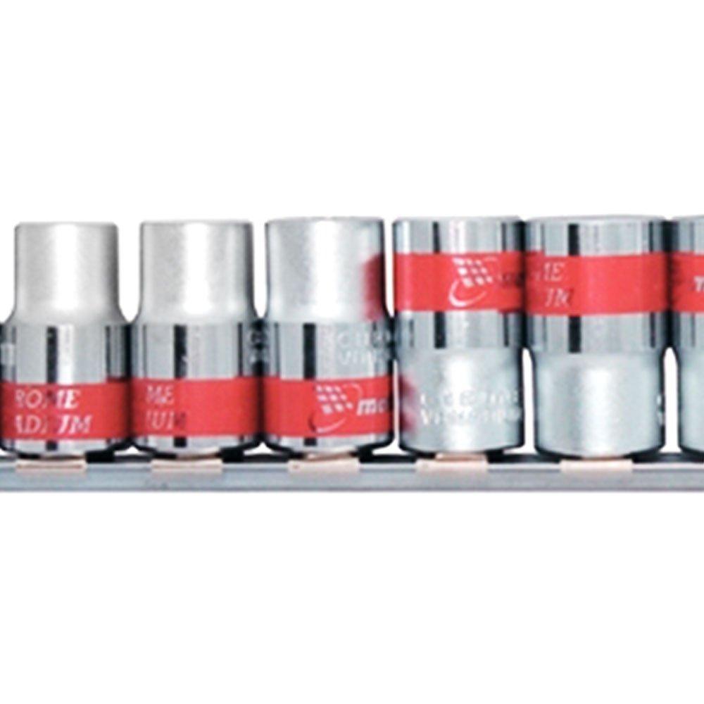Jogo de Soquetes Spline de 10 a 22mm com Encaixe de 1/2 Pol. com 10 Peças - Imagem zoom